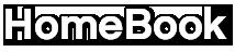 MyHomeBook Logo White